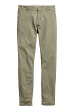 Chinos - Khaki green - Ladies | H&M 2