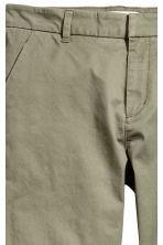 Chinos - Khaki green - Ladies | H&M 3