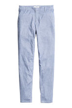 Chinos - Blue/Striped - Ladies | H&M 2