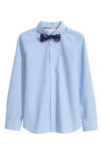 Shirt with tie/bow tie - Light blue - Kids | H&M 2