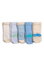 5-pack socks - Beige - Kids | H&M CN 2