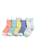 5-pack socks - Green - Kids | H&M CN 1