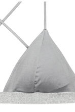 Triangle bikini top - Grey - Ladies | H&M 3
