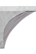Bikini bottoms - Grey - Ladies | H&M 3