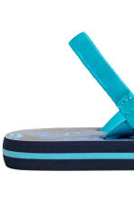 Flip-flops - Dark blue/Leaf - Kids | H&M 3