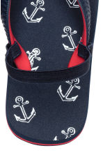 Flip-flops - Dark blue/Anchor - Kids | H&M 4