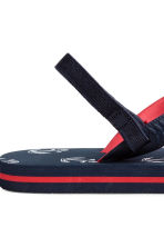 Flip-flops - Dark blue/Anchor - Kids | H&M 3