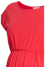 MAMA Jersey dress - Coral red - Ladies | H&M CN 3
