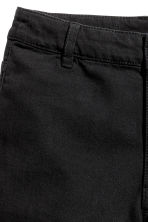 Twill shorts - Black - Ladies | H&M 3