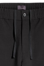 Wide trousers - Black - Men | H&M 4