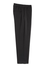 Wide trousers - Black - Men | H&M 3
