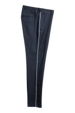 Pantaloni completo Slim fit - Blu scuro - UOMO | H&M IT 3