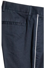 Pantaloni completo Slim fit - Blu scuro - UOMO | H&M IT 4