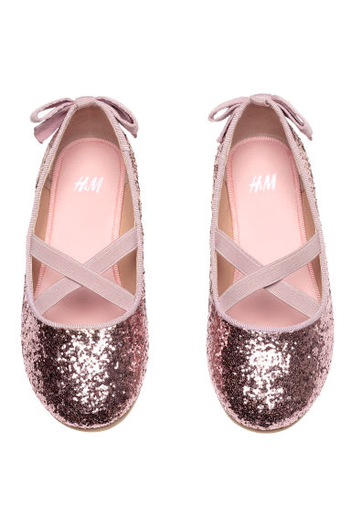 Ballerines - Rose/scintillant - ENFANT | H&M FR 1