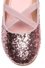 Ballerines - Rose/scintillant - ENFANT | H&M FR 4