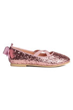 Ballerines - Rose/scintillant - ENFANT | H&M FR 2