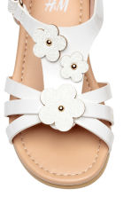 Sandals with appliqués - White - Kids | H&M 4