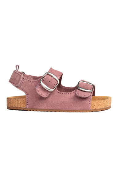 Suede sandals - Old rose - Kids | H&M 1