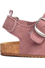 Suede sandals - Old rose - Kids | H&M 4