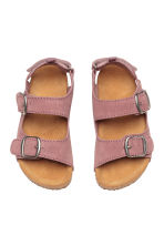Suede sandals - Old rose - Kids | H&M 2