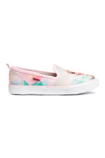 Slip-on trainers - Light pink/Frozen - Kids | H&M CA 2