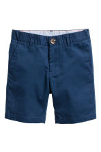Shorts chinos - Blu scuro -  | H&M IT 2