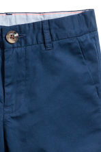 Shorts chinos - Blu scuro -  | H&M IT 3