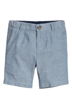 Chino shorts - Blue/Chambray -  | H&M CN 2