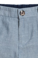 Chino shorts - Blue/Chambray -  | H&M CN 3