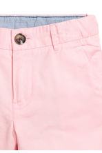 Chino shorts - Light pink -  | H&M 3