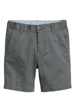 Chino shorts - Dark grey -  | H&M 2