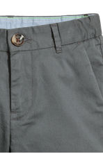 Chino shorts - Dark grey -  | H&M 4