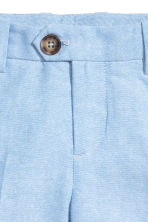 Oxford shorts - Light blue - Kids | H&M CN 3