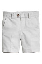 Oxford shorts - Light grey - Kids | H&M 2