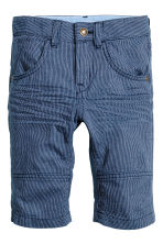 Clamdiggers - Dark blue/Narrow striped - Kids | H&M CN 2