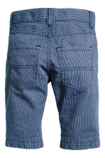 Clamdiggers - Dark blue/Narrow striped - Kids | H&M CN 3