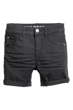 Short en twill - Nearly black - ENFANT | H&M FR 2