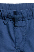 Cotton shorts - Dark blue -  | H&M CN 3