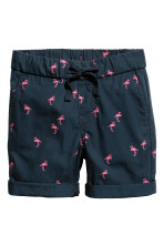 Dark blue/Flamingo