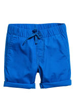 Cotton shorts - Cornflower blue -  | H&M 2