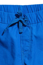 Cotton shorts - Cornflower blue -  | H&M 3