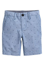 Chino shorts - Blue/Anchor - Kids | H&M CN 2