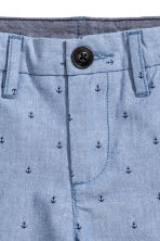 Chino shorts - Blue/Anchor - Kids | H&M CN 3