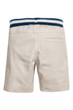 Pull-on shorts - Light mole -  | H&M 3