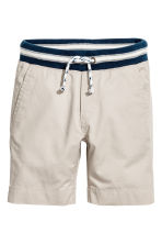 Pull-on shorts - Light mole -  | H&M 2