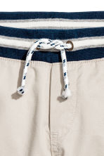 Pull-on shorts - Light mole -  | H&M 4