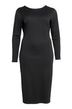 H&M+ Jersey dress - Black - Ladies | H&M 2