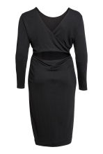 H&M+ Jersey dress - Black - Ladies | H&M 3