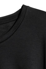 H&M+ Jersey top - Black - Ladies | H&M 3