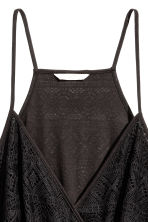 H&M+ Lace playsuit - Black -  | H&M 2
